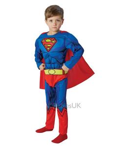 Deluxe Comic Book Superman - Kids