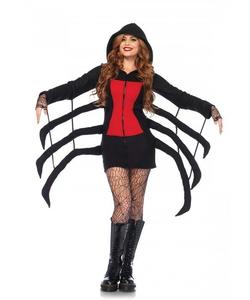 cozy black widow costume