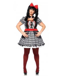 plus size darling babydoll costume