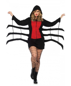 plus size cozy black widow costume