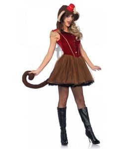 wind up monkey costume