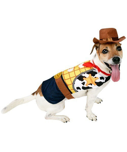 woody dog costume