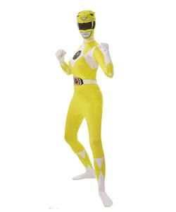 yellow power ranger 2nd skin - ladies