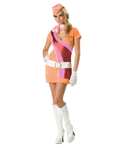 Sassy Stewardess Costume  sc 1 st  The Costume Shop : 60s costumes for girls  - Germanpascual.Com