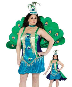 Peacock Plus Size