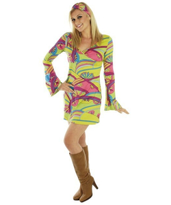 60's Hippy Chick Costume