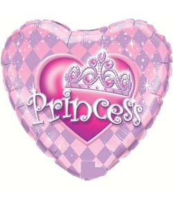 Pretty Pink Princess Balloon