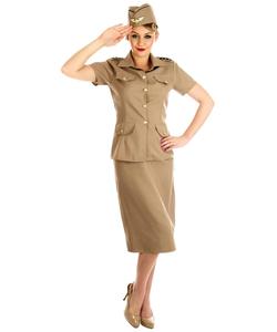 American GI Lady Costume