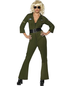 Aviator Hottie Costume