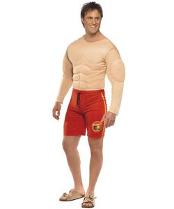 Mens Baywatch Lifeguard Costume