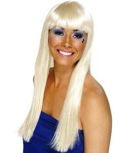 blonde dancing queen wig