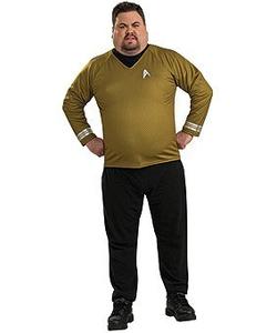 captain kirk - plus size