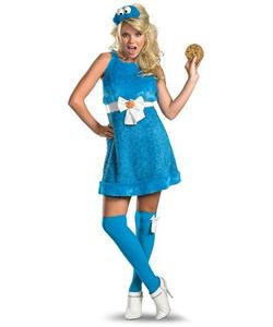 Ladies Cookie Monster Costume