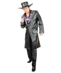 Lether pimp daddy costume