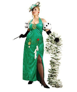 plus lady luck costume