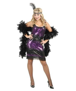 Sequin Flapper Costume