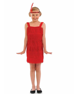 Flapper Kids Costume
