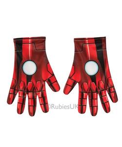 Iron Man Gloves - Adult