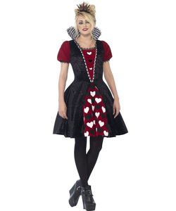 Dark Red Queen Costume