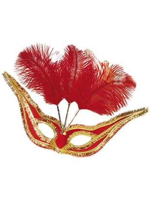 Red Gala Eye Mask