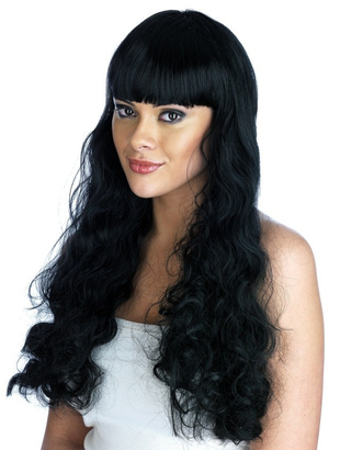 Black Pin Up Girl Wig
