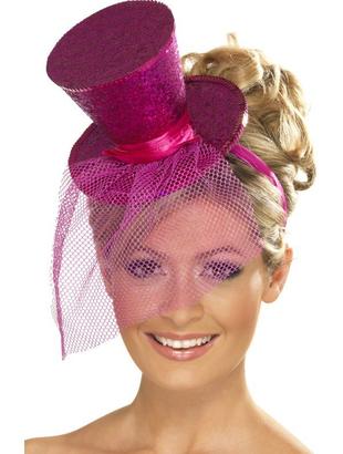 Pink Mini Top Hat