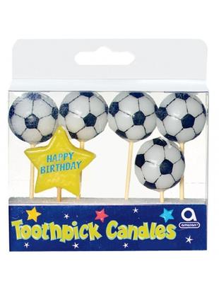 Blue Sparkle Birthday Candles