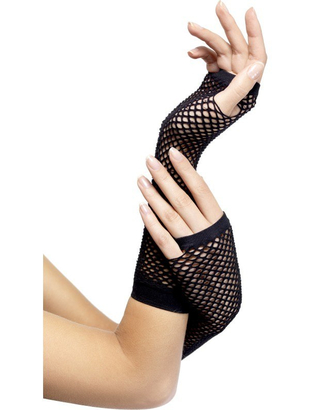Long Fishnet Gloves
