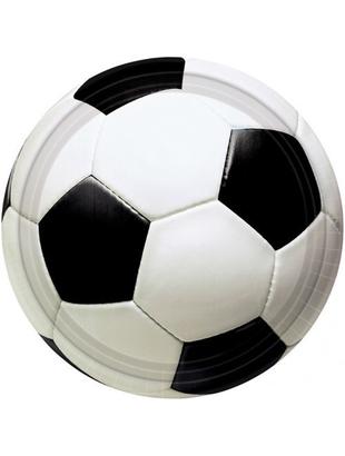 Soccer Paper Plates - 20 Pack