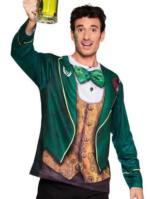 St Patrick's Mens Photrealistic Shirt