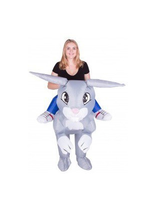 inflatable rabbit costume