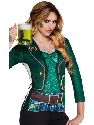 St Patrick's Women's Photrealistic Shirt