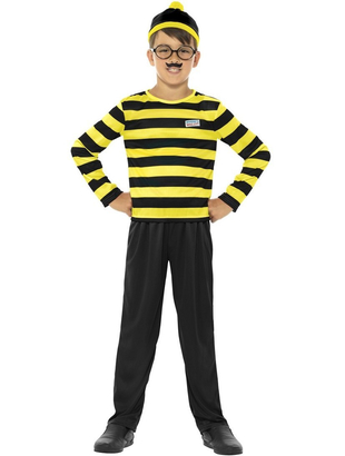 Where's Wally Odlaw Costume - Teen