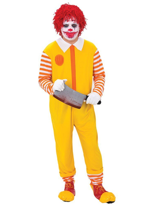 happy clown costume
