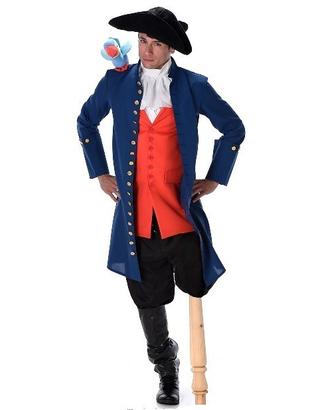Long John Pirate Costume