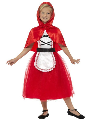 Deluxe Red Riding Hood Costume - Kids