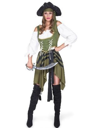 Swashbuckler Girl Plus Size Costume