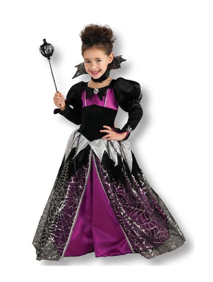 Pretty Witch Little Girl's Costume