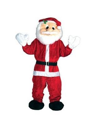 Deluxe Santa Mascot
