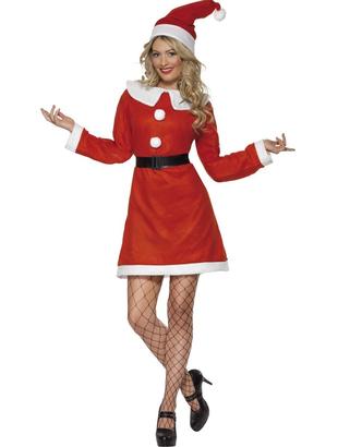 Adult Miss Santa Costume