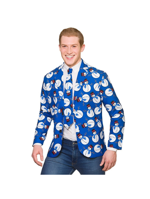 Snowman Jacket and Tie