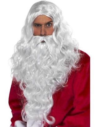 Long Santa Beard & Wig