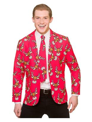 Reindeer Jacket and Tie