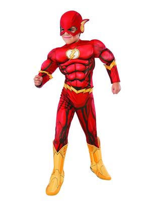 Kids Deluxe Flash Costume