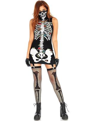 Bones And Roses Costume