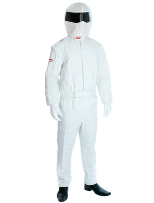 White Racing Driver Costume