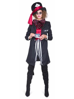 Black Hatter Girl Costume