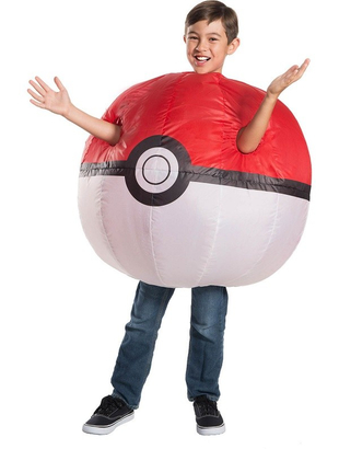 Pokémon Inflatable Poké Ball Costume - Kids