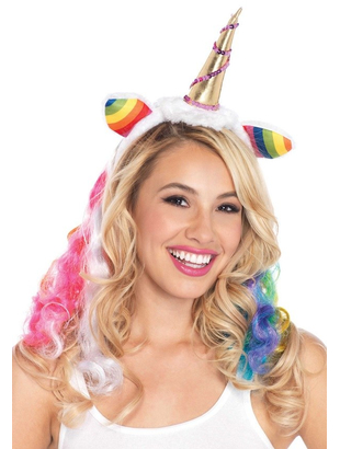 Unicorn Headband - Rainbow