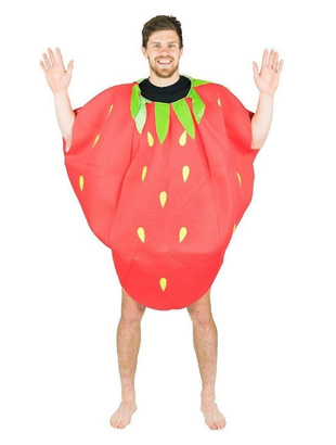 Foam Strawberry Costume